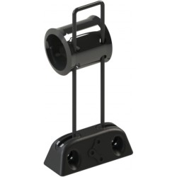 Guide-chaîne HXR COMPONENTS by Chaintamer 60 mm Noir