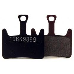 Plaquettes HAYES Prime métalliques T103 (support acier - silencieuses)