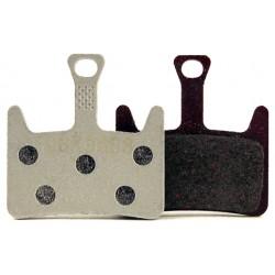 Plaquettes HAYES Prime semi-métalliques T106 (support aluminium)