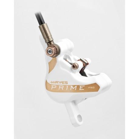 Etrier complet HAYES Prime Pro Blanc (sans plaquettes)