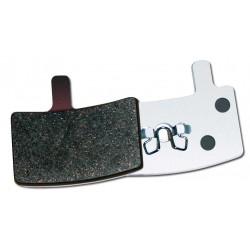 Plaquettes HAYES Stroker Trail/Carbon/Gram semi-métalliques (support aluminium)