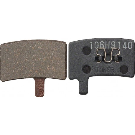 Plaquettes HAYES Stroker Trail/Carbon/Gram semi-métalliques (support acier)