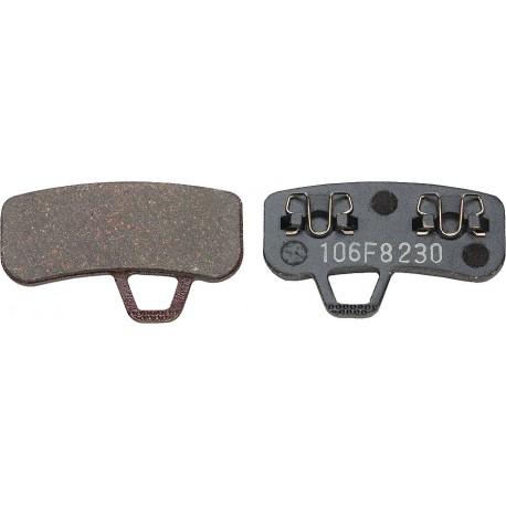 Plaquettes HAYES Stroker Ace semi-métalliques T106