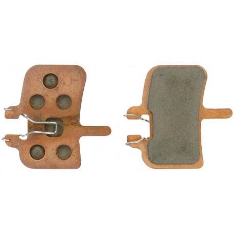 Plaquettes HAYES HFX-9/HFX-Mag/MX-1 métalliques G2 longue durée
