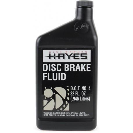 Liquide de frein HAYES DOT 4 (1 Litre - 32 oz)