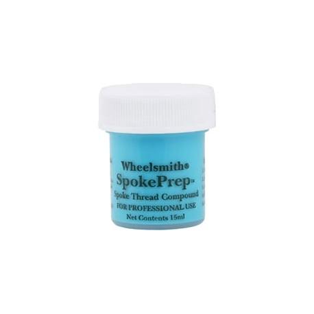 Frein filet rayons WHEELSMITH Spoke Prep Bleu (15 ml)