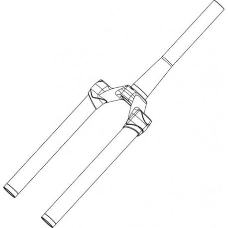 Pivot/Té/Plongeurs MANITOU Minute Pro 120 mm Blanc