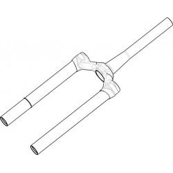 Pivot/Té/Plongeurs MANITOU Magnum Comp 27.5 120/140 mm Noir