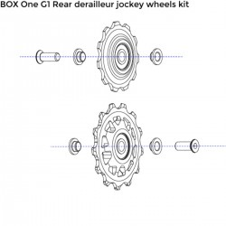Galets de dérailleur BOX COMPONENTS One G1