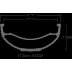 Roue SUN RINGLE Duroc SD37 Expert 27.5 12x157 DH (arrière)