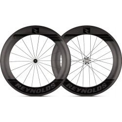 Roues REYNOLDS 80 AERO Tubeless Patins XD 18/24 (la paire)