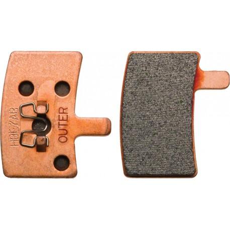 Plaquettes HAYES Stroker Trail/Carbon/Gram métalliques (support acier)