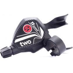 Manette de dérailleur BOX COMPONENTS Two Twin 11 vitesses Noir