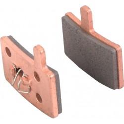 Plaquettes HAYES Stroker Trail/Carbon/Gram métalliques T103 (support acier - silencieuses)