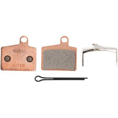 Plaquettes HAYES Dyno/Radar/Stroker Ryde métalliques T100